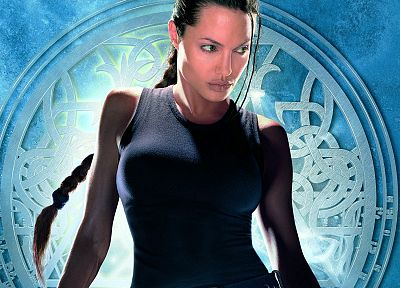 women, Angelina Jolie, Tomb Raider - random desktop wallpaper