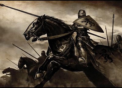 knights, horses, Mount&Blade, artwork, medieval, Swadia - related desktop wallpaper