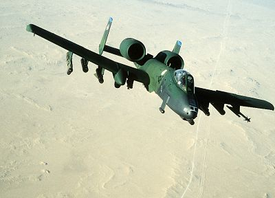 aircraft, military, A-10 Thunderbolt II - related desktop wallpaper