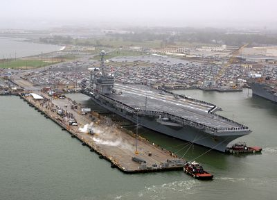 ships, navy, vehicles, aircraft carriers, Norfolk - random desktop wallpaper
