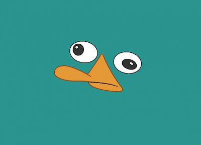 Perry the Platypus - random desktop wallpaper