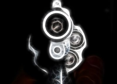 guns, energy, Fractalius - random desktop wallpaper