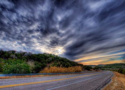 landscapes, roads, HDR photography - random desktop wallpaper