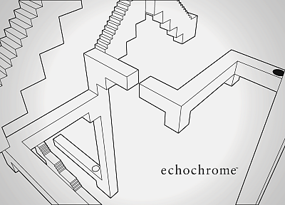 echochrome - random desktop wallpaper