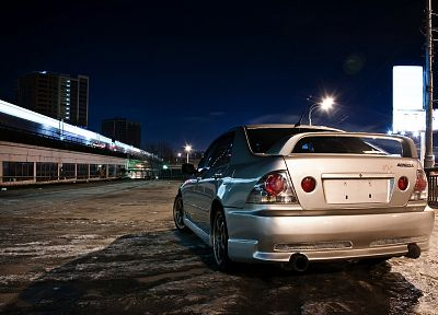 Japan, cars, Toyota, Lexus, vehicles, Lexus IS, Japanese cars, Toyota Altezza, rear angle view - random desktop wallpaper