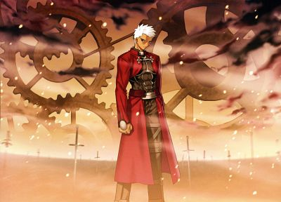 Fate/Stay Night, anime, Archer (Fate/Stay Night), Fate series - desktop wallpaper