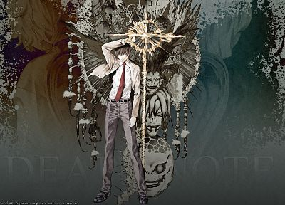 Death Note, Ryuk, Yagami Light - related desktop wallpaper