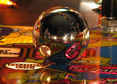 pinball - random desktop wallpaper