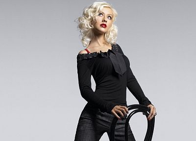 women, Christina Aguilera - random desktop wallpaper