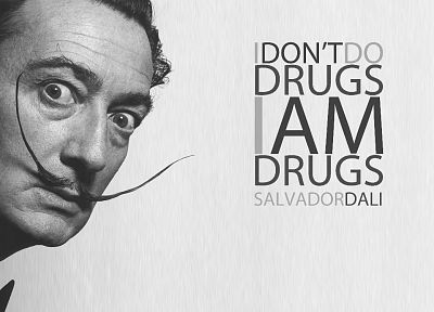quotes, Salvador Dalí - random desktop wallpaper