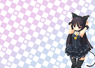 nekomimi, animal ears, Gokou Ruri, Ore No Imouto Ga Konna Ni Kawaii Wake Ga Nai - related desktop wallpaper
