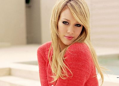 blondes, women, Hilary Duff, celebrity - random desktop wallpaper