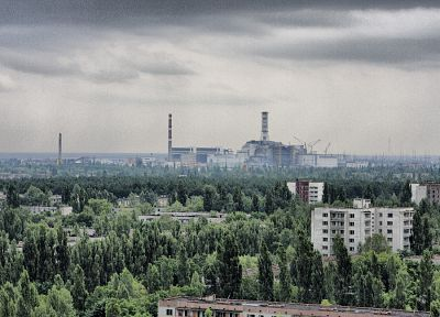 nuclear, Chernobyl, power plants, HDR photography - random desktop wallpaper