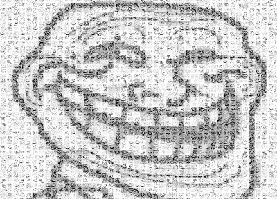 trollface - random desktop wallpaper