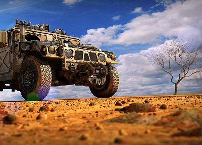 military, vehicles, Humvee - random desktop wallpaper