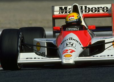 Formula One, vehicles, Ayrton Senna, McLaren, 1990 - related desktop wallpaper