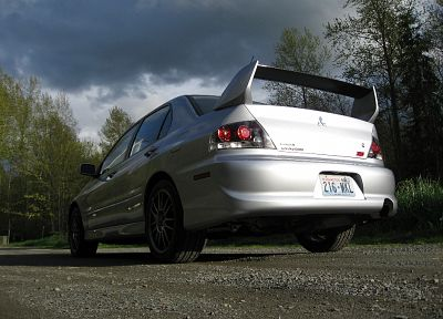 cars, Mitsubishi Lancer Evolution - random desktop wallpaper