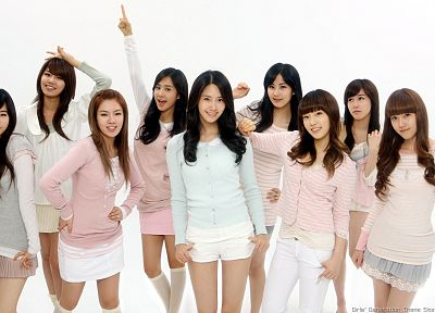 brunettes, women, Girls Generation SNSD, celebrity, Asians, Seohyun, Korean, singers, Jessica Jung, Kim Taeyeon, Kwon Yuri, Im YoonA, Kim Hyoyeon, Choi Sooyoung, Lee Soon Kyu, Tiffany Hwang, bangs - desktop wallpaper