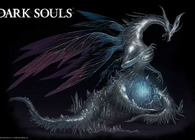 dragons, Dark Souls - random desktop wallpaper