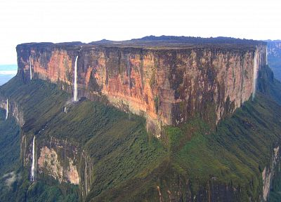 mountains, landscapes, cliffs, Brazil, venezuela, Guyana, Mount Roraima - random desktop wallpaper