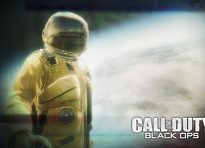 video games, Call of Duty, Xbox, astronauts, Playstation 3, Call of Duty: Black Ops - random desktop wallpaper