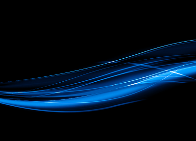 abstract, blue, lines - related desktop wallpaper