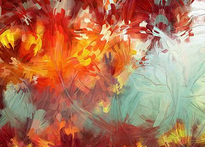 abstract, multicolor, illustrations, artwork, bright, generative art, Patrick Gunderson - related desktop wallpaper