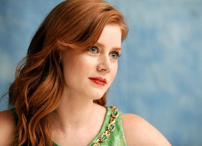 women, actress, redheads, Amy Adams - desktop wallpaper