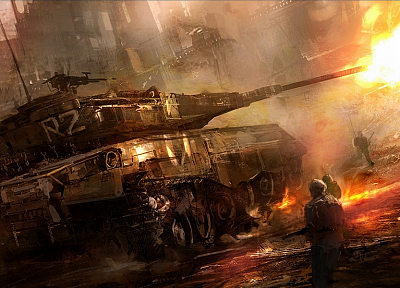 video games, war, tanks - desktop wallpaper