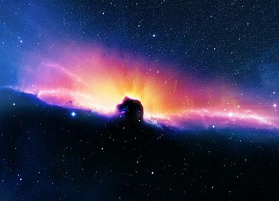 outer space, nebulae, Horsehead Nebula - related desktop wallpaper