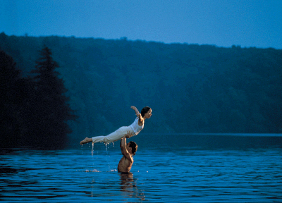 nature, wet, dance, Dirty Dancing, dancers, Patrick Swayze, lakes, wet clothing - related desktop wallpaper