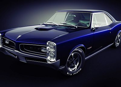 cars, Pontiac GTO - desktop wallpaper