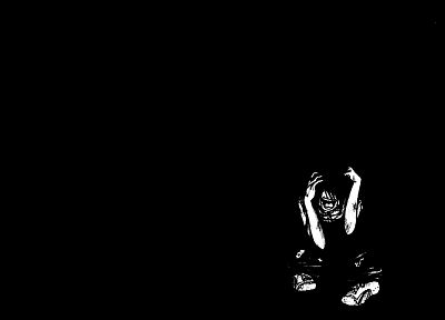 insane, madness, black background - random desktop wallpaper