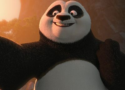 cartoons, panda bears, Kung Fu Panda, Kung Fu - desktop wallpaper
