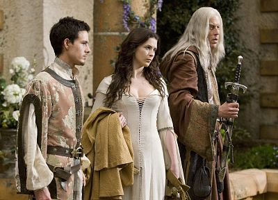 Bridget Regan, Legend Of The Seeker, Kahlan Amnell, Bruce Spence, Zeddicus Zu'l Zorander, Jason Smith - random desktop wallpaper