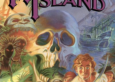video games, Monkey Island, posters - random desktop wallpaper
