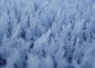 ice crystals - random desktop wallpaper