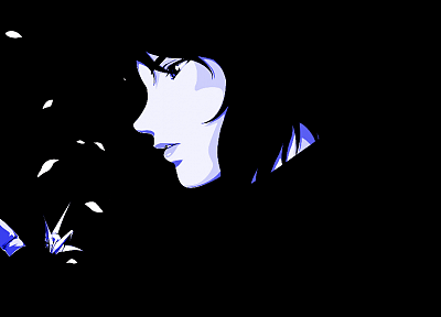 Motoko Kusanagi, vectors, Ghost in the Shell - random desktop wallpaper