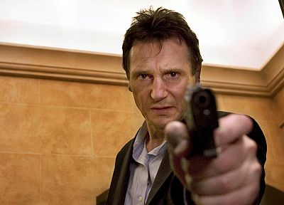guns, Liam Neeson - popular desktop wallpaper