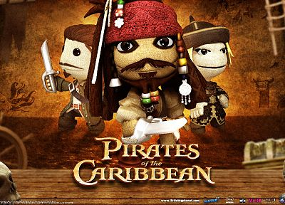 video games, Little Big Planet, Pirates of the Caribbean, Captain Jack Sparrow - random desktop wallpaper