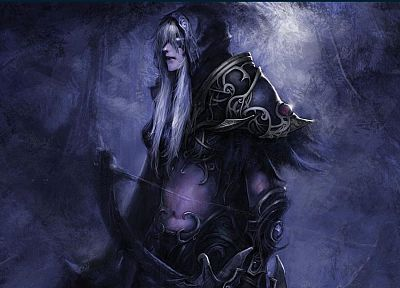 video games, World of Warcraft, fantasy art, artwork, night elf - related desktop wallpaper