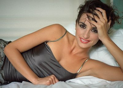women, Penelope Cruz - random desktop wallpaper