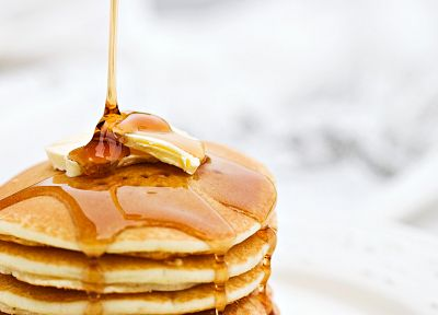 food, sweets (candies), pancakes, breakfast - random desktop wallpaper