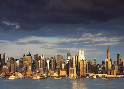 cityscapes, New York City - random desktop wallpaper