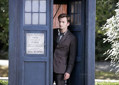 TARDIS, David Tennant, Doctor Who, Tenth Doctor - related desktop wallpaper