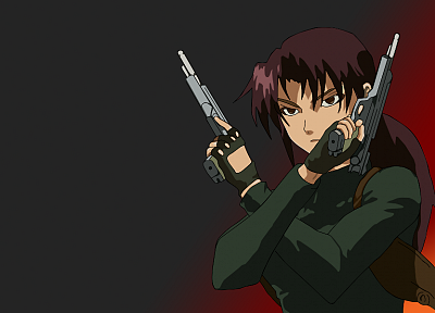 Black Lagoon, Revy, anime - desktop wallpaper