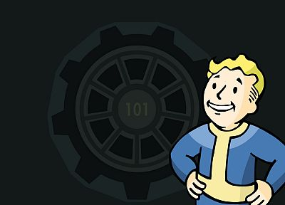 Fallout, Vault Boy, Vault 101 - random desktop wallpaper