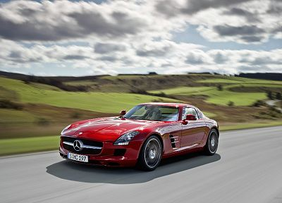 cars, vehicles, Mercedes-Benz SLS AMG, Mercedes-Benz, German cars - related desktop wallpaper