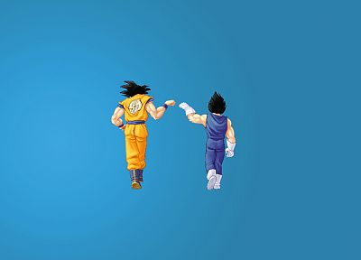 Vegeta, Goku, Dragon Ball Z - desktop wallpaper
