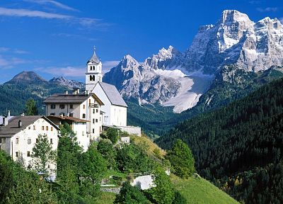 landscapes, churches, Italy, Alps - related desktop wallpaper